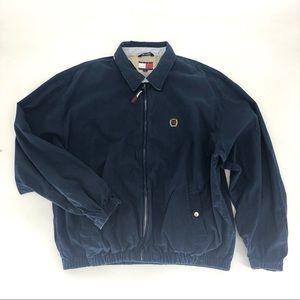Tommy Hilfiger Vintage Windbreaker Jacker Navy XXL